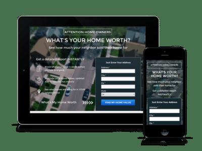 seller leads responsive